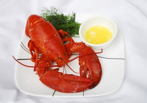 bigstockphoto_Lobster_dinner_5387814
