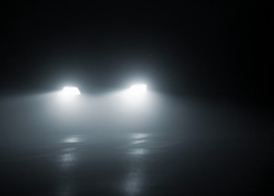 Headlights on