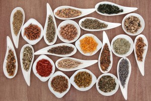 Large medicinal herb and spice selection also used in magical po