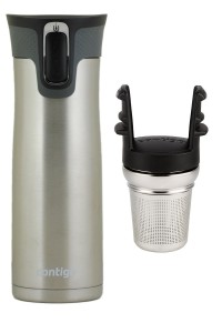 Contigo travel mug with tea infuser